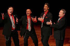 2010 - Let's Sing  Steve Tremper, Mark Chandler, Joe Doub, Greg Zinke  Greensboro, NC; Research Triangle Park, NC; Winston-Salem, NC